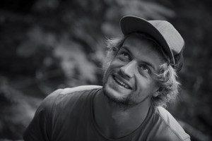 Lukas Hinterberger del equipo de expedición SAC